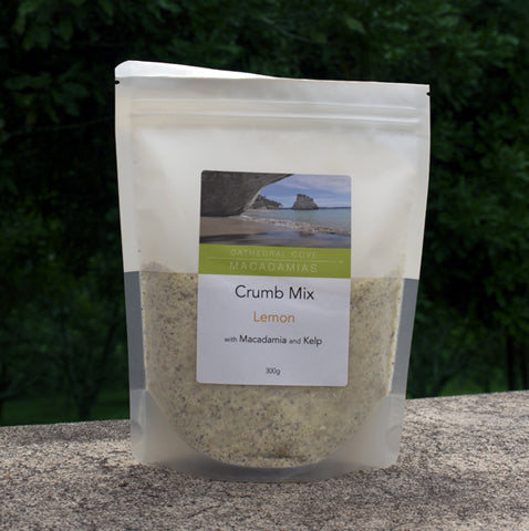Lemon Crumb Mix with Macadamia and Kelp 300g