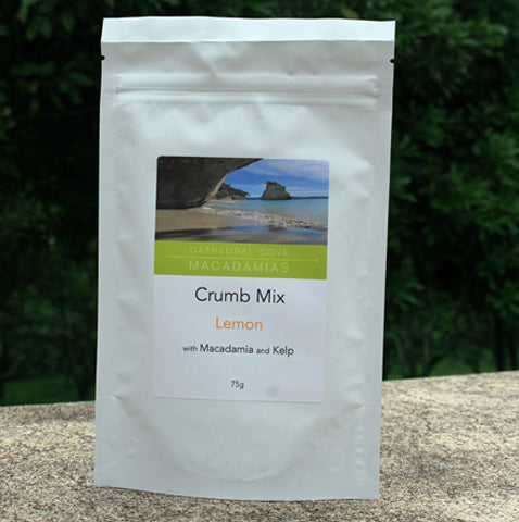 Lemon Crumb Mix with Macadamia and Kelp 75g