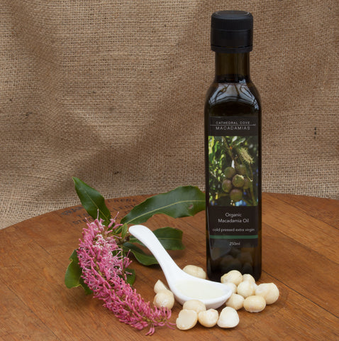 Organic Macadamia Oil  250 ml