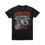 Fredo Legend T-shirt - Black Vintage Wash