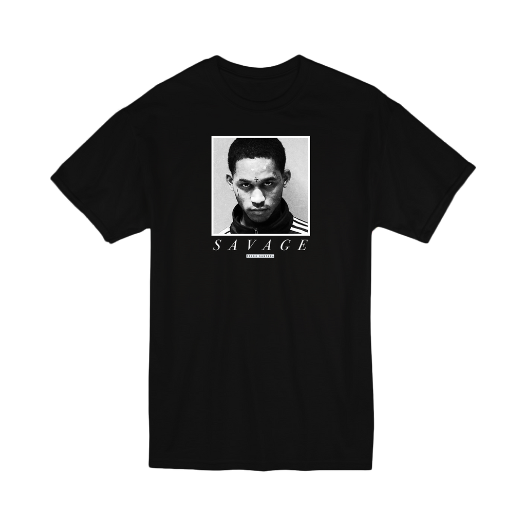 Mugshot T-shirt - Black