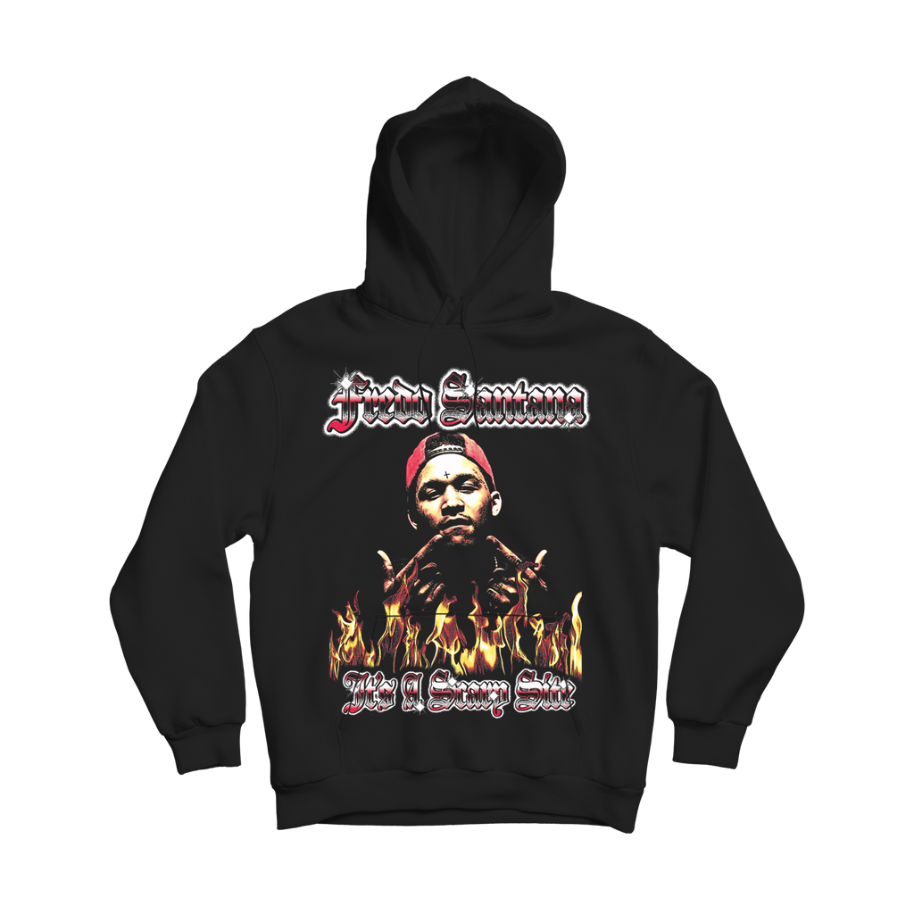 SCARY SITE HOODIE - BLACK (VERSION COLOR)