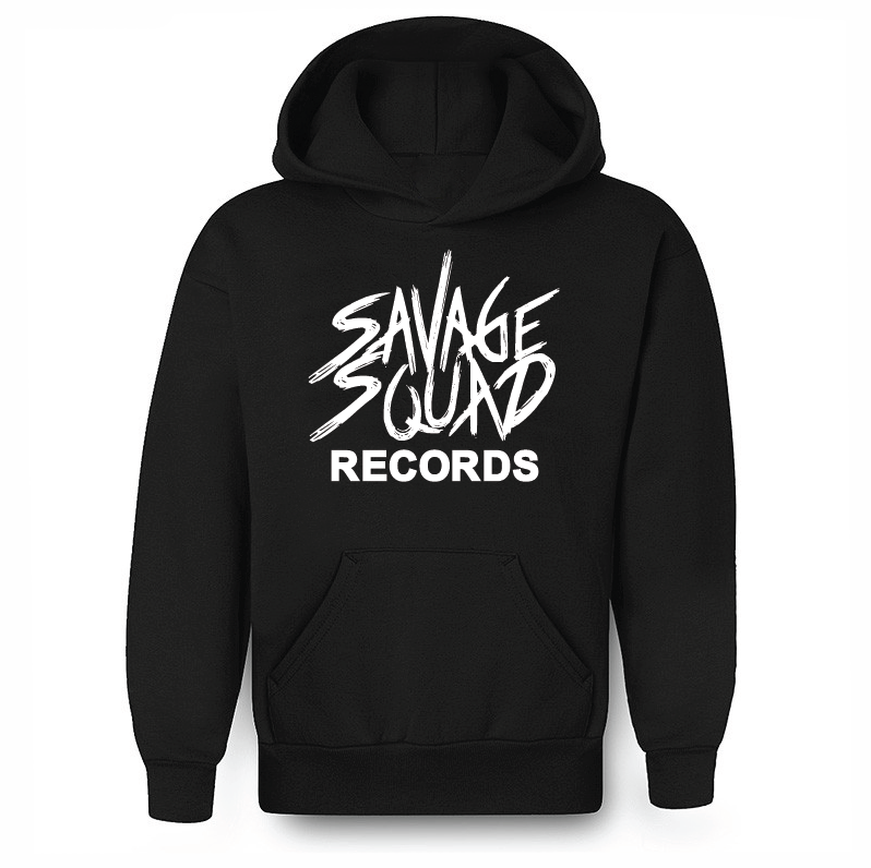 Savage Squad Records Hoodie - Black