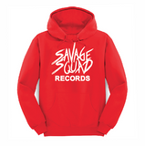 Savage Squad Records Hoodie - Red