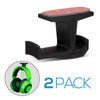 Big-J : Under Desk Headphone Hanger and Cable Organiser - Twin Pack
