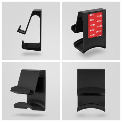 The Hutch - Tablet / Phone Mount & Headphone Hanger