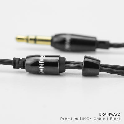 Earphone Cable with MMCX Connector (3.5mm Jack)