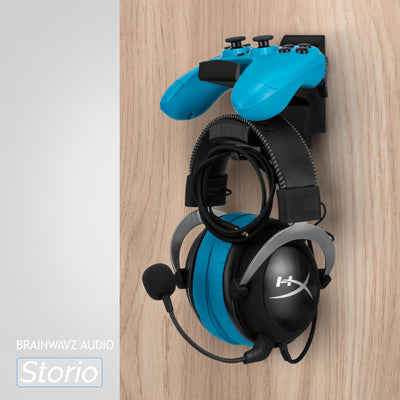The Storio - Controller & Headphone Wall Hanger
