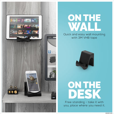 Tasan: Desktop & Wall Mounted Phone and Tablet Stand