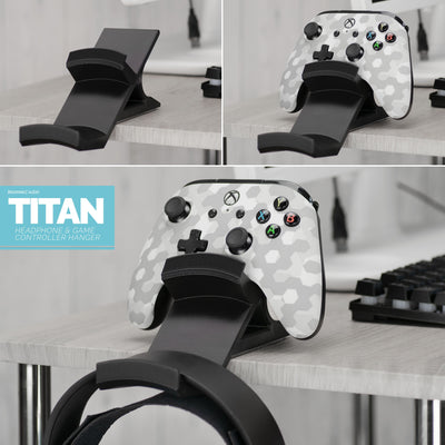 Titan - Desktop Headphone and Game Controller Hanger