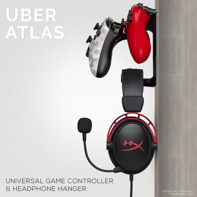 Uber Atlas - Universal Edition - Dual Game Controller and Headphone Hanger