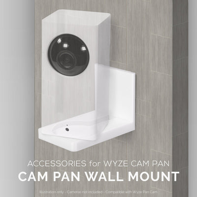 Wall Mount for Wyze Cam Pan Security Camera
