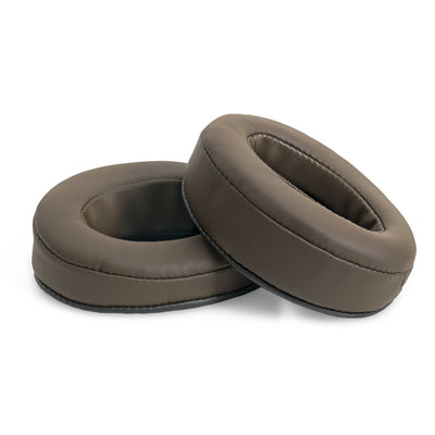 Headphone Memory Foam Earpads - Oval - Angled (Various Colours)
