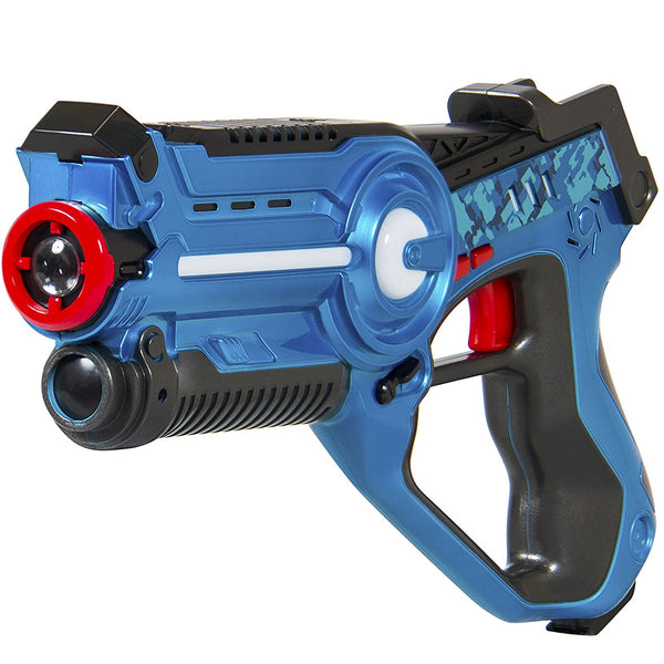 Kids Laser Tag Set Gun Toy Blasters W/ Multiplayer Mode, 4 Pack - MOD Complete