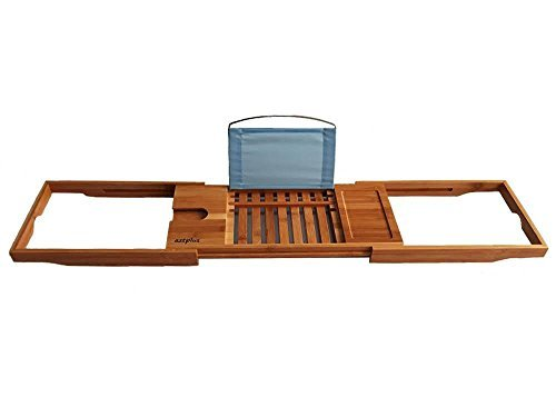 MOD Complete Luxury Organic Bamboo Bathtub Caddy - MOD Complete
