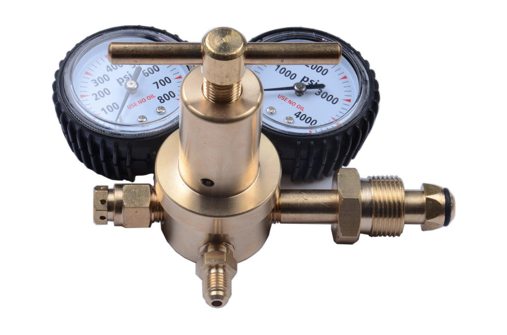 Nitrogen Regulator with 0-700 PSI Delivery Pressure CGA580 Inlet Connection