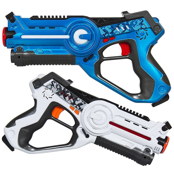 MOD Complete Kids Laser Tag Set Gun Toy Blasters W/ Multiplayer Mode, 2 Pack - MOD Complete