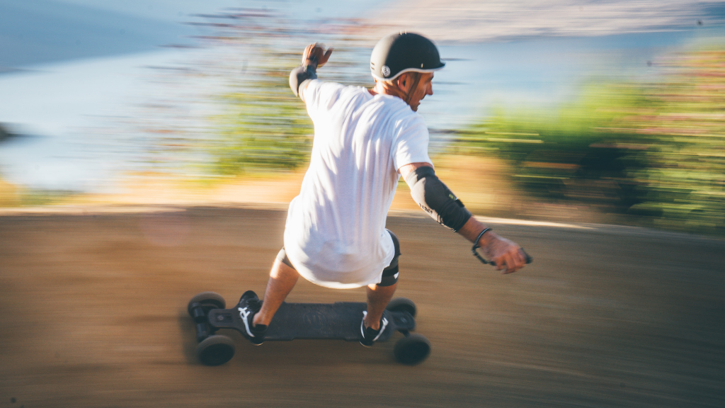 Off-road electric skateboard: riding it like a pro