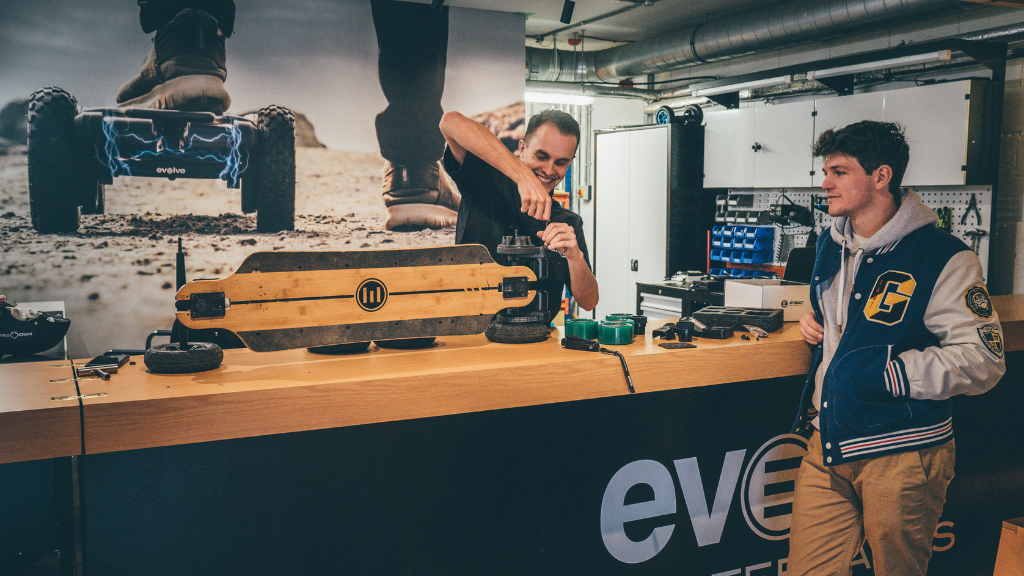 Evolve Skateboards UK full-service centre