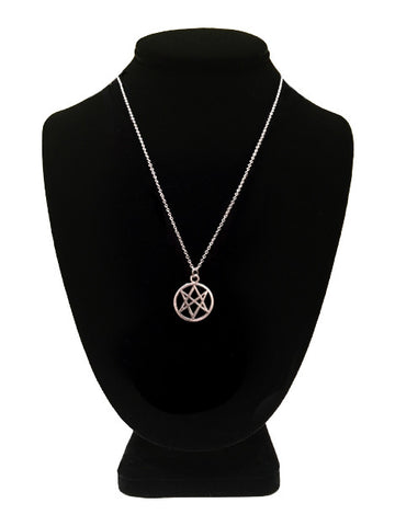 Jewelry rest for the wicked unicursal hexagram necklace mozeypictures Images