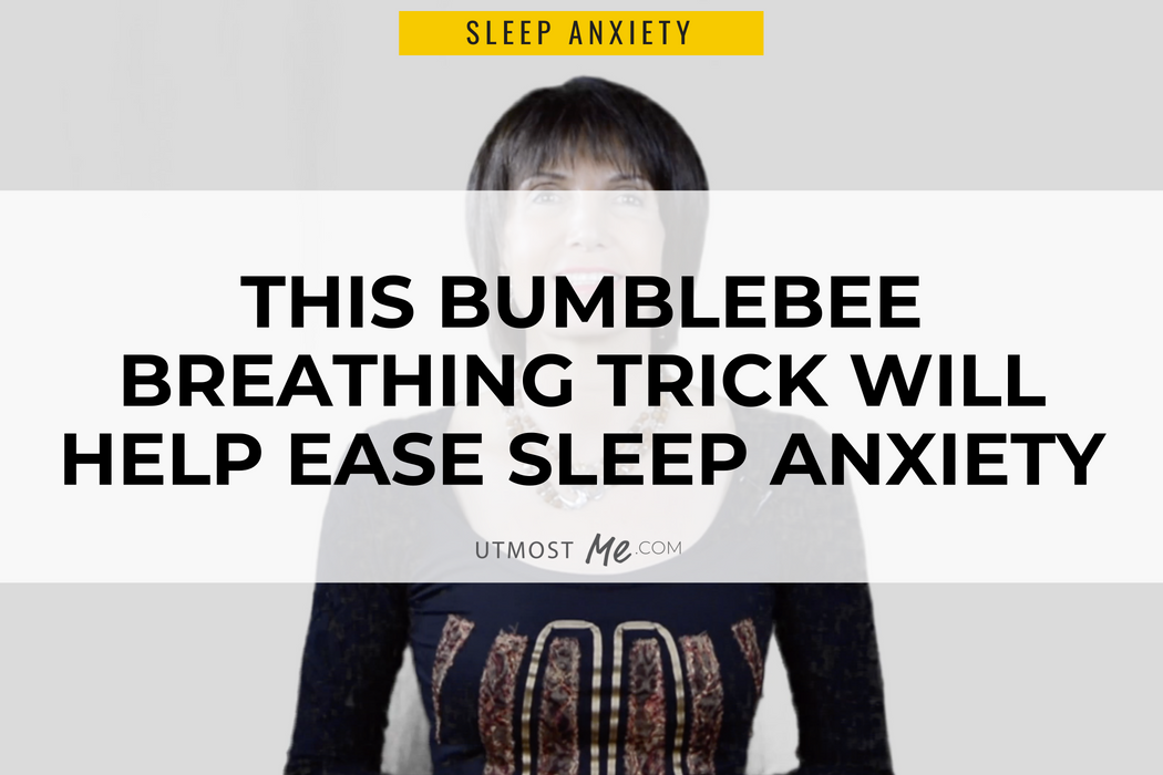 This Bumblebee Breathing Trick Will Help Ease Sleep Anxiety