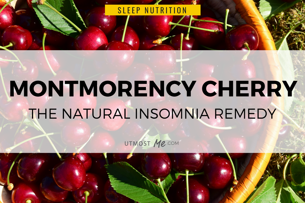 Montmorency Cherry for Sleep – The Natural Insomnia Remedy