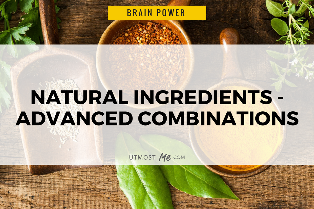 Utmost Me Natural Ingredients - Advanced Combinations