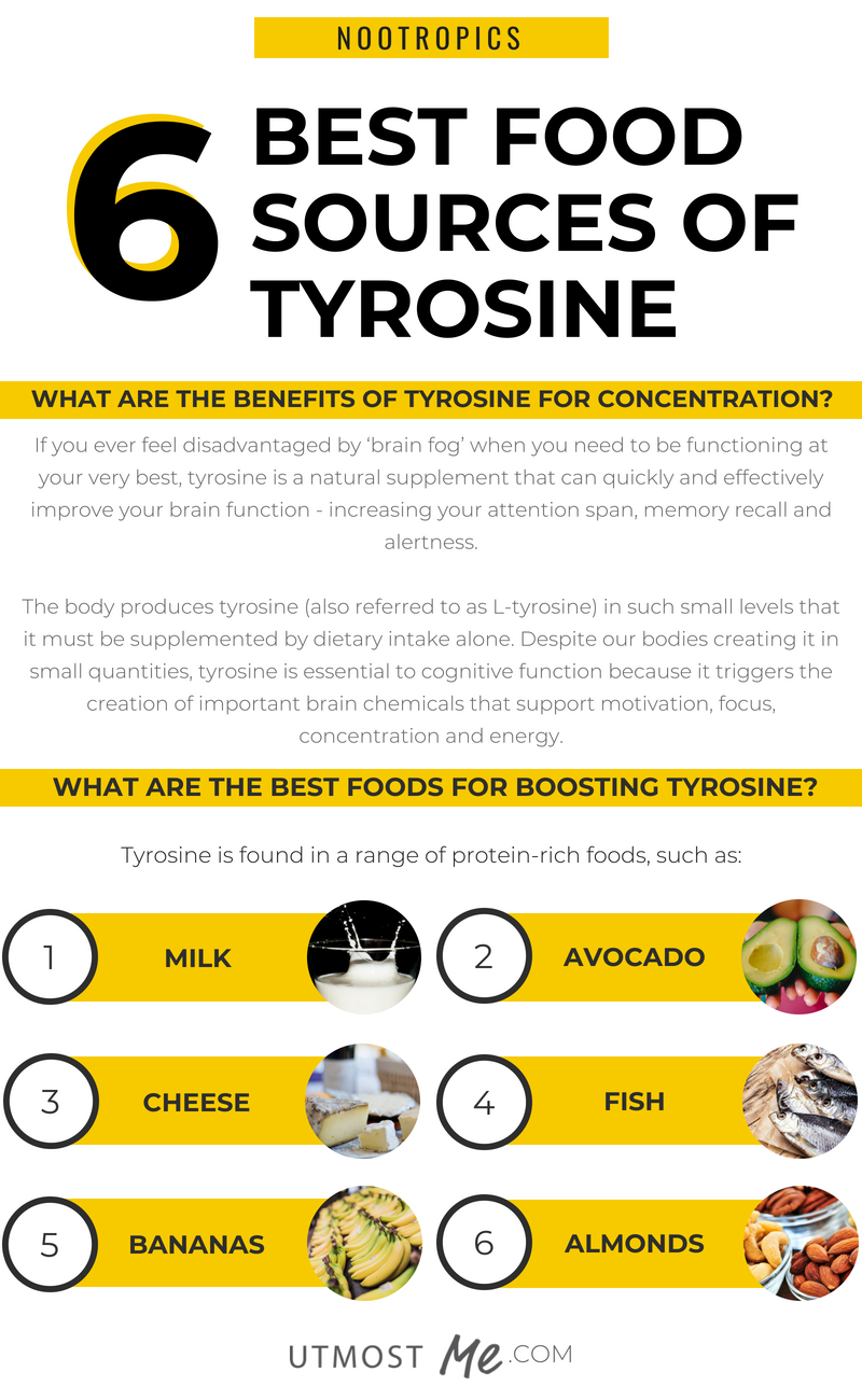 6 Best Food Sources High In Tyrosine