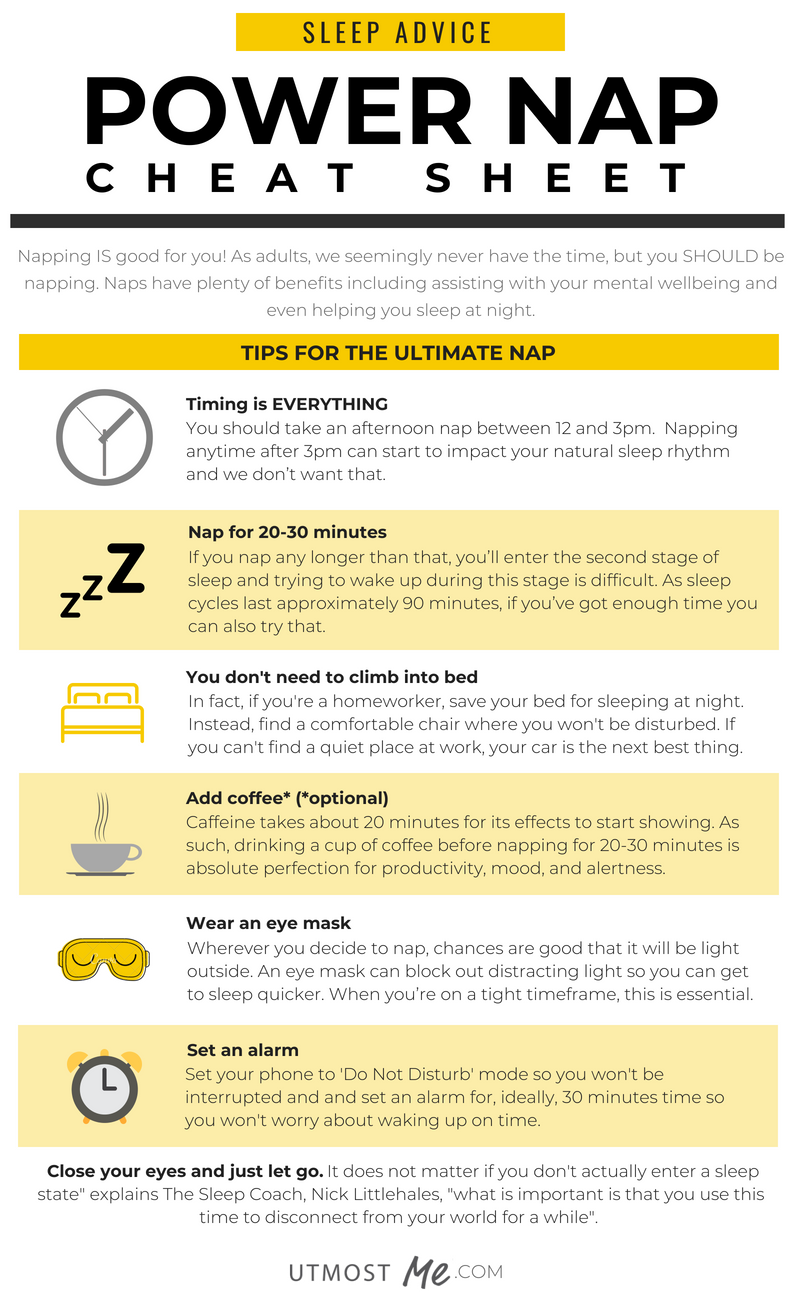How To Power Nap Your Way To A Better Night's Sleep