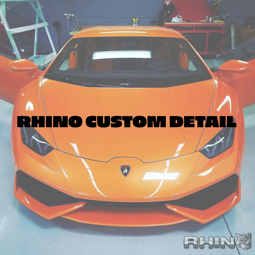 Rhino Custom Detail - 3 Stage Polish