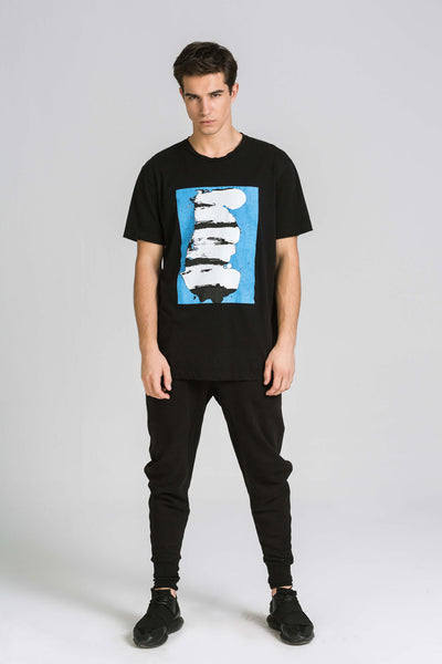 ONE BLUE BLACK TEE