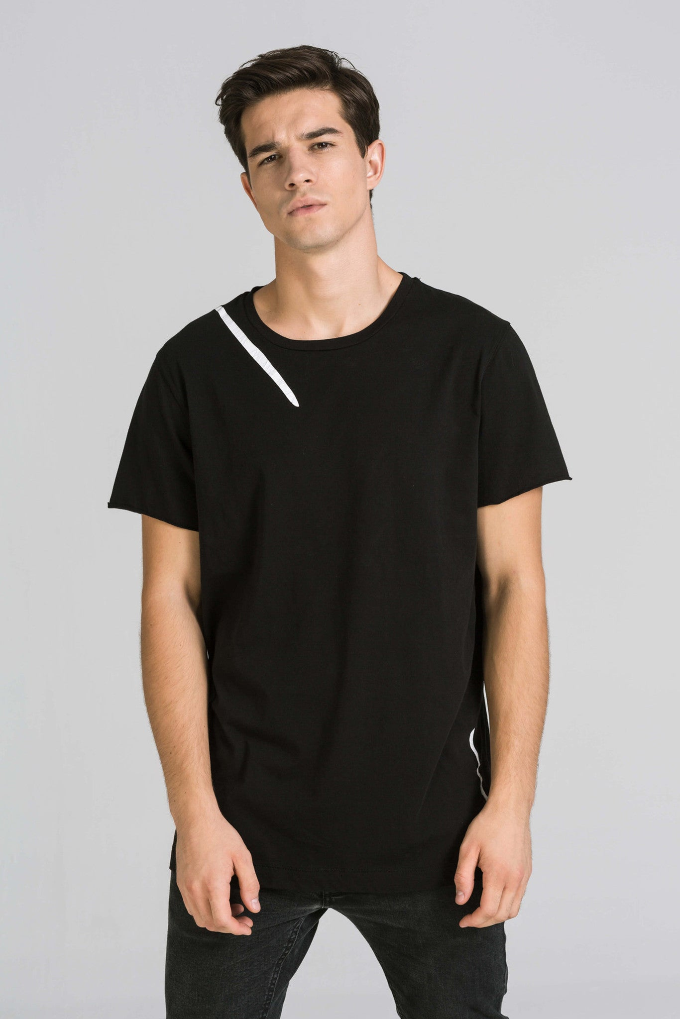 NEW DAY BLACK TEE