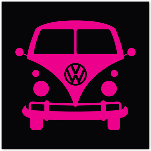 Black Pop-art VW