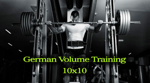 German Volume Training - The Original 10 x 10 – Gym Religion