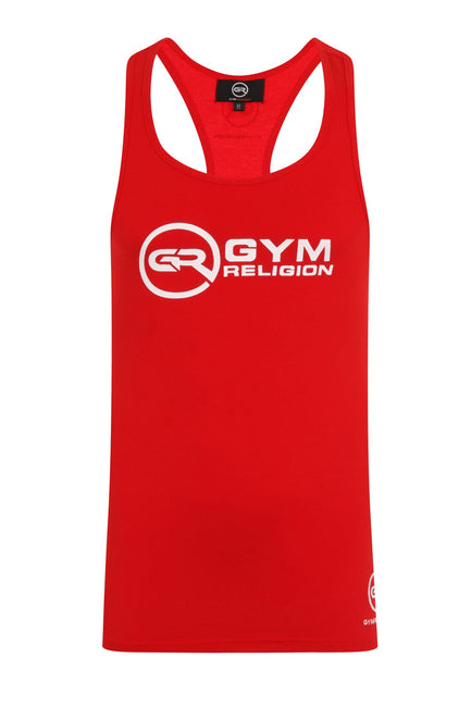 Signature Core Range Stringer Vest - Red