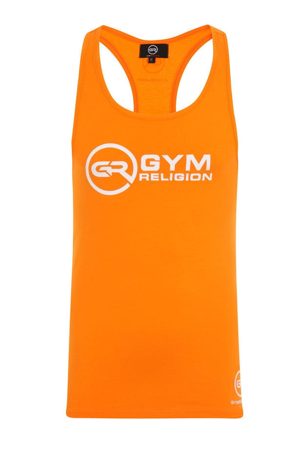 Signature Core Range Stringer Vest - Neon Orange