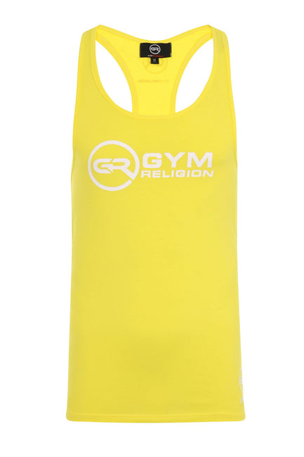 Signature Core Range Stringer Vest - Neon Yellow