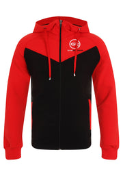 Signature Core Range Zip Hoodie - Red & Black
