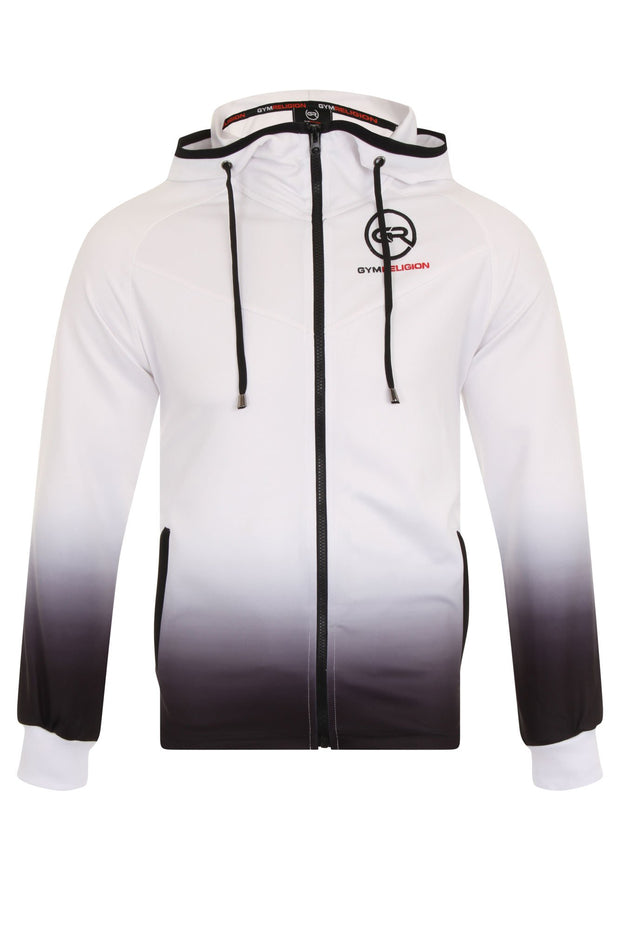Urban Range Gradient Jacket - White/Black