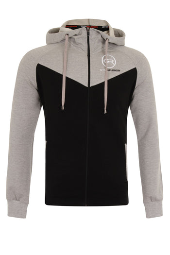Signature Core Range Jacket - Grey & Black