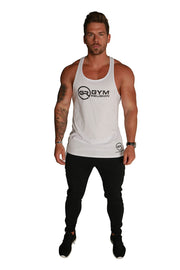 Signature Core Range Stringer Vest - White