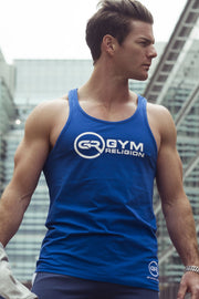Signature Core Range Stringer Vest - Blue