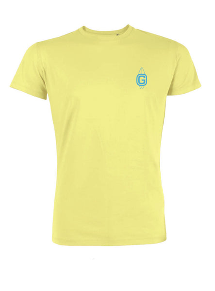 Kids Classic T Shirt Yellow Front & Back Print