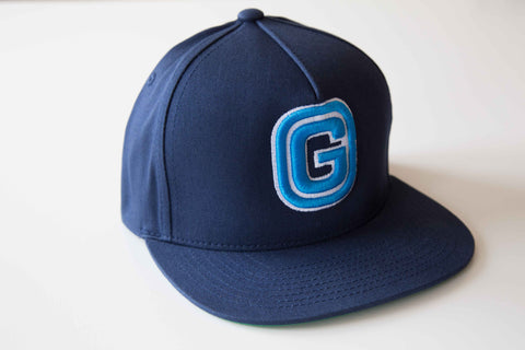 G Baseball Cap | Blue & White
