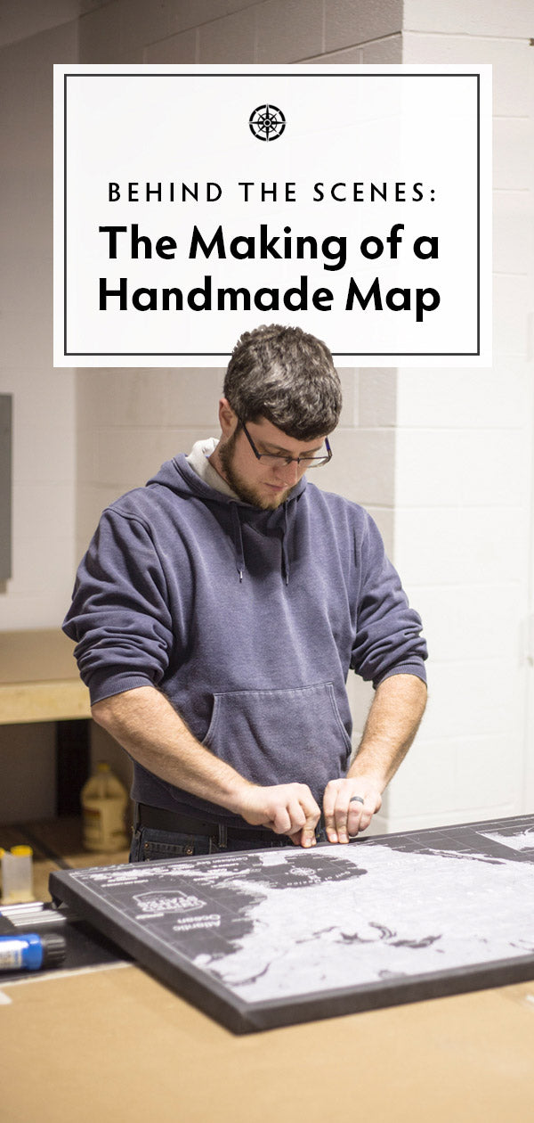 A behind the scenes of our unique map making process.