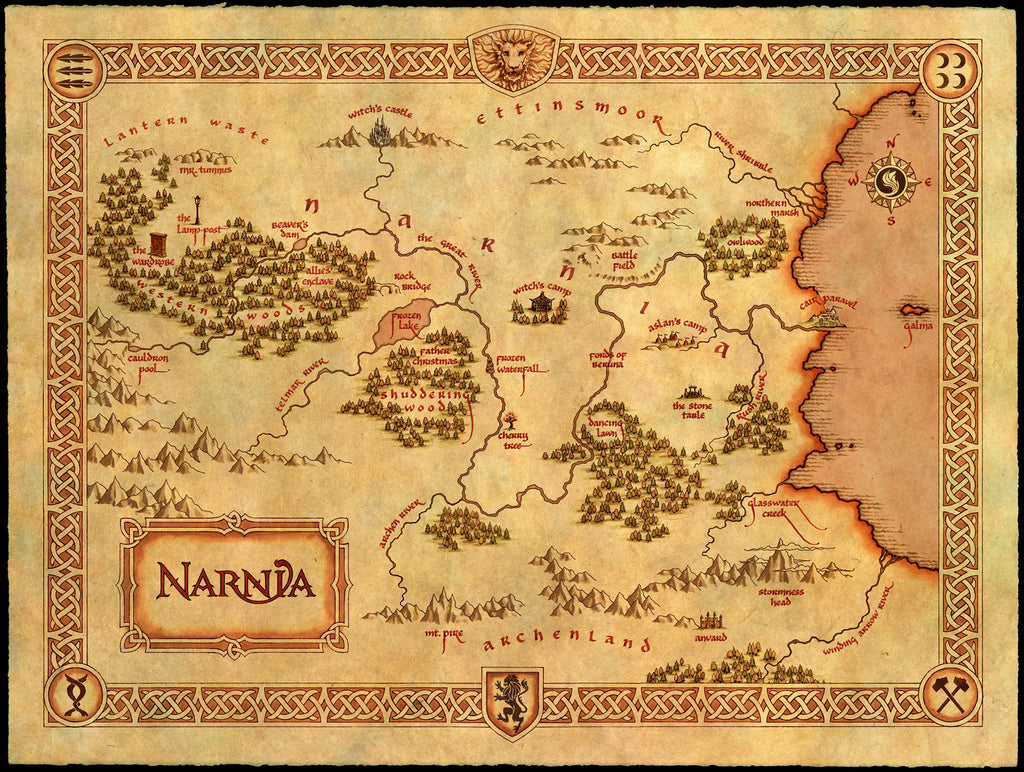 Famous Fantasy Maps To Fuel Your Adventures Conquest Maps