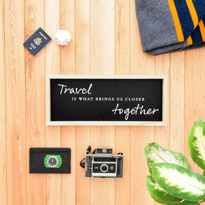 Travel is What Brings Us Closer Together scale image