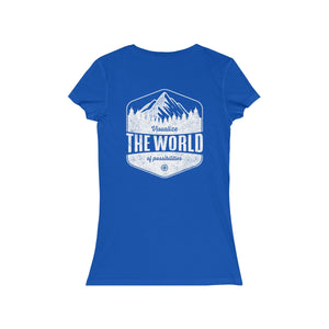 True Royal Conquest Maps Visualize the World of Possibilities women's Tee