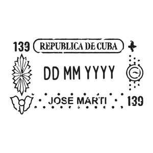Passport Stamp Decal - Cuba