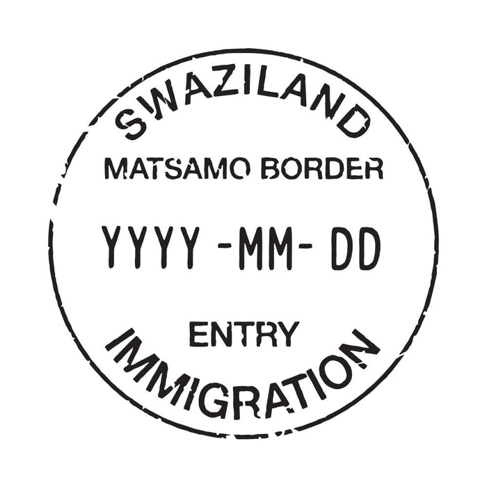 Passport Stamp Decal - Eswatini (Swaziland)